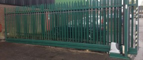 Recent Repair of Security Gate, Nice Run 1800 & New Running Equipment [Sliding Gate Automation System]