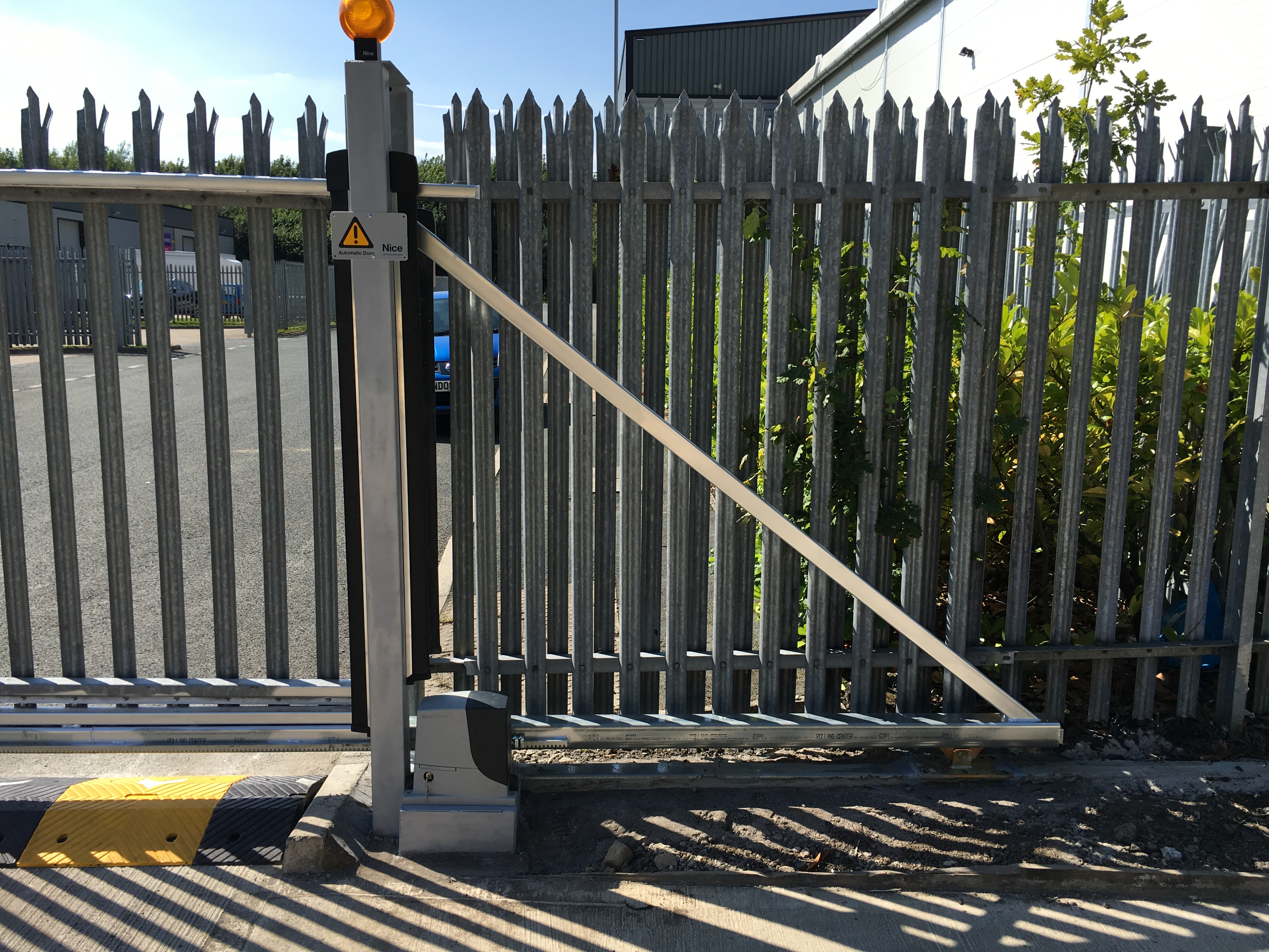 016 Swing Gates Converted to Automated Sliding Gates [Nice RB1000]