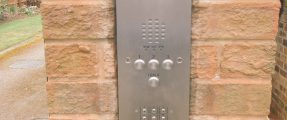 3-Way Intercom System for Gated Community – Access Control & Security
