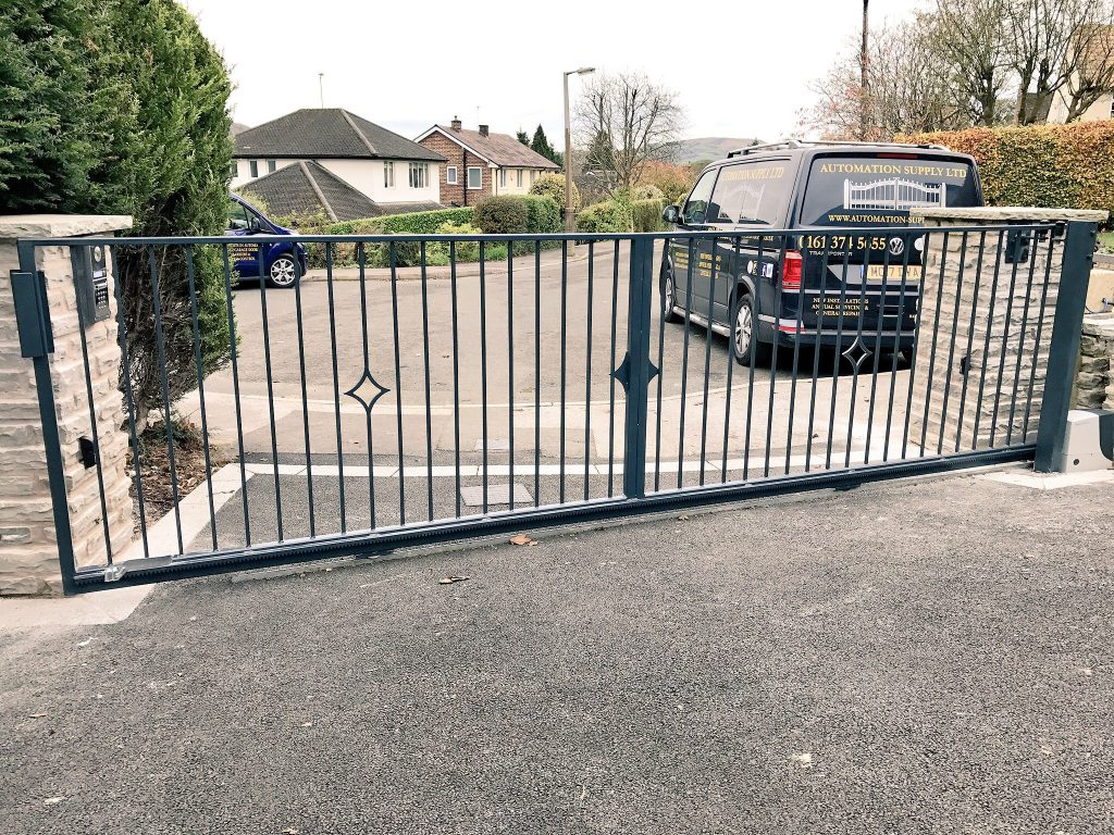 IMG_0547-1024x768 New Install of Sliding Gate & Automation [NICE RB1000]