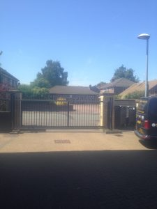 image5-225x300 Installation to sliding gate on residential site [Nice Run 2500 with existing access control]