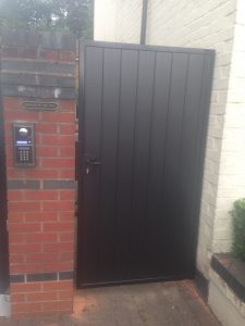IMG_2542-300x225 New installation [Composite driveway & pedestrian gates with Nice L-FAB automation and Videx GSM intercom]