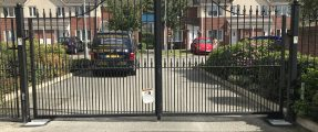 AUTOMATED SWING GATES FOR RESIDENTIAL SITE – NICE BM4024 KIT
