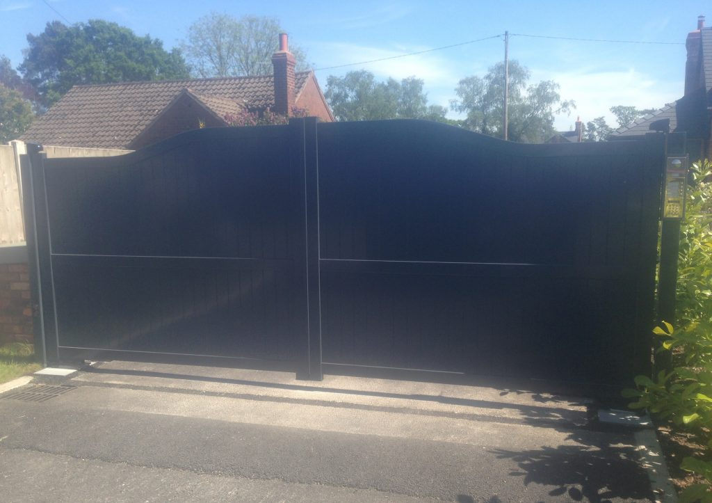 image5-21-1024x723 New Installation [Aluminium gates with Nice L-FAB automation & Videx GSM intercom system]