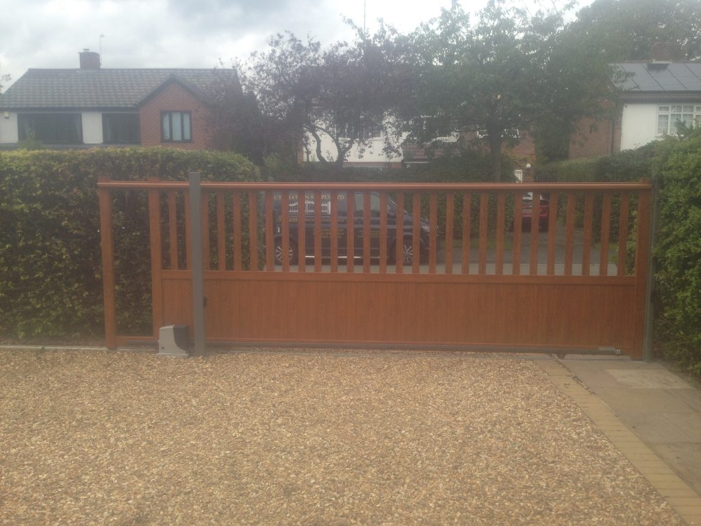 image2-7-1024x768 New Installation [Aluminium sliding gate with Nice Robus 1000 automation & Videx GSM intercom]