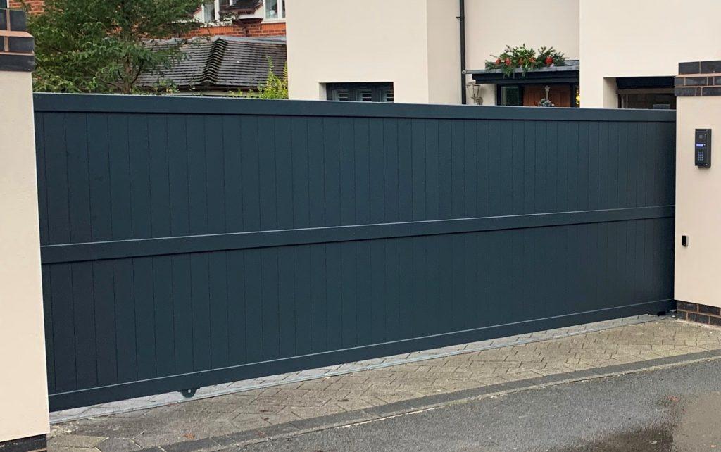 IMG_0795-1-1024x684 Electric Aluminium Sliding Gate (New Installation in Cheadle Hulme, SK8)